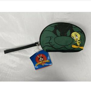 Looney Tunes Tweety Bird canvas coin purse 1998 Vt